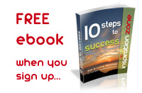 10 Steps to Success free ebook download from Inspiration Zone
